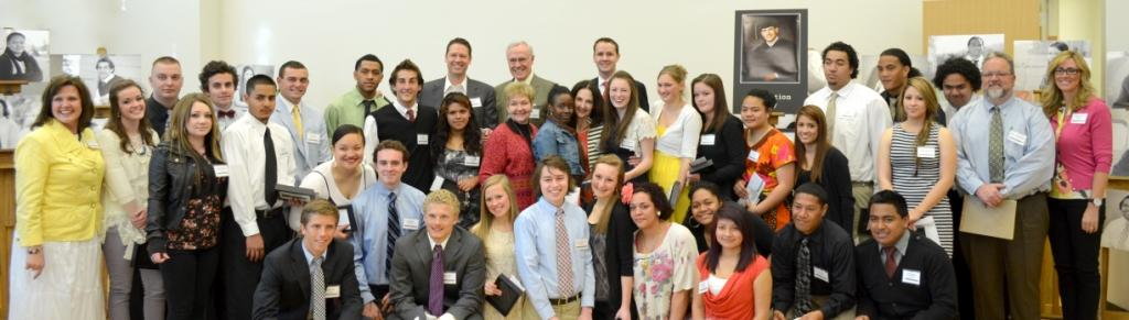 2012 David B. Pedersen Scholarship Recipients