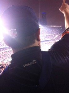Carlos Takes Cariloha to Chicago Bears Game