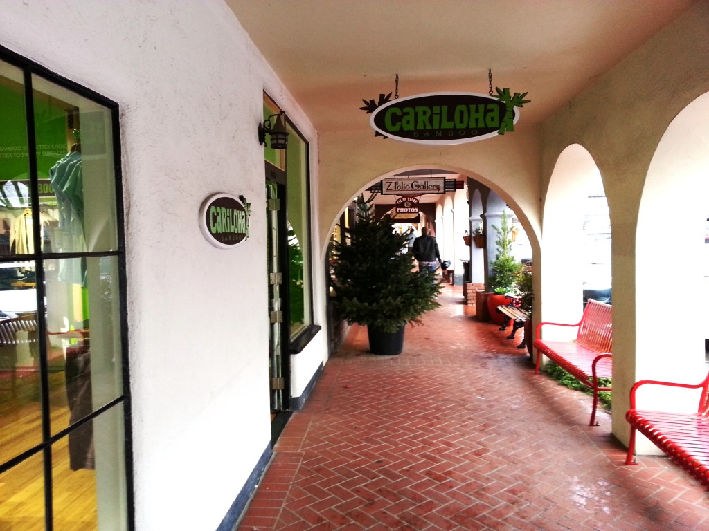 Cariloha store exterior in Solvang, CA