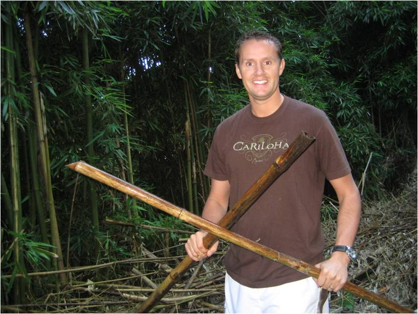 Jeff Pedersen in Bamboo Forest