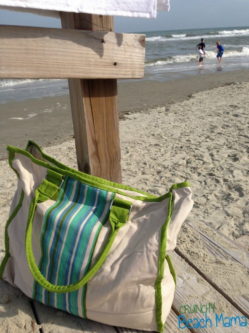 crunchy beach mama  reviews bamboo beach bag