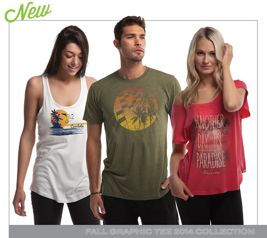 Cariloha Fall Graphic Tee Collection Snapshot