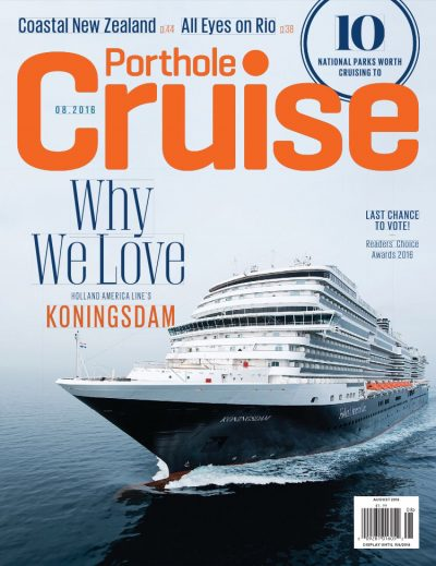 Cariloha Featured in Porthole Cruise Magazine