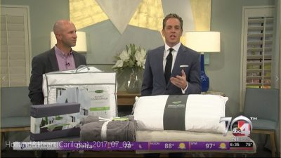 Cariloha Bamboo Bedding Spotlighted on ABC 4 News!