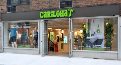 New York's First Exclusively Bamboo Bedding and Clothing Store, Cariloha, Opens in Manhattan, New York City