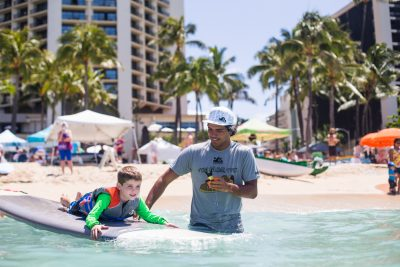 Cariloha and Mauli Ola Foundation Making Smiles under the Sun and in the Surf
