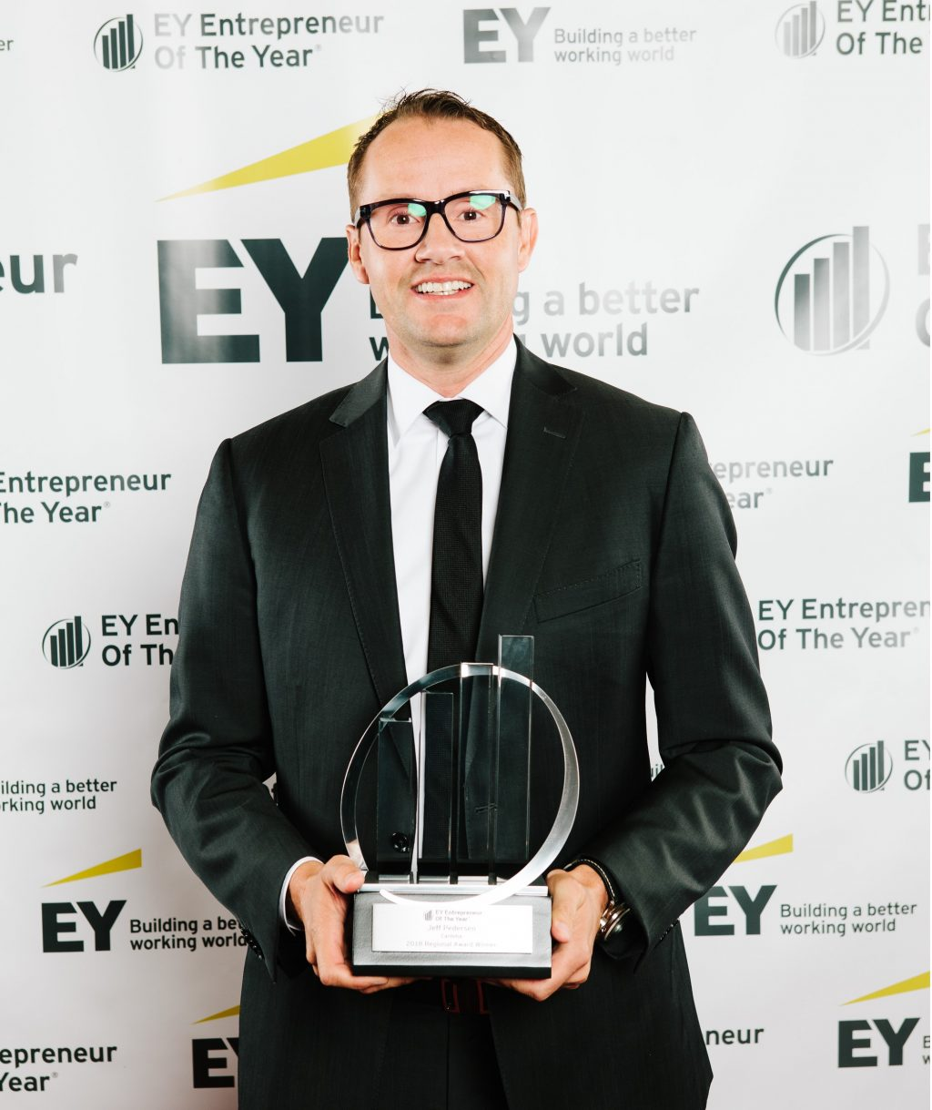 Cariloha CEO Jeff Pedersen Wins the EY Entrepreneur Of The Year®