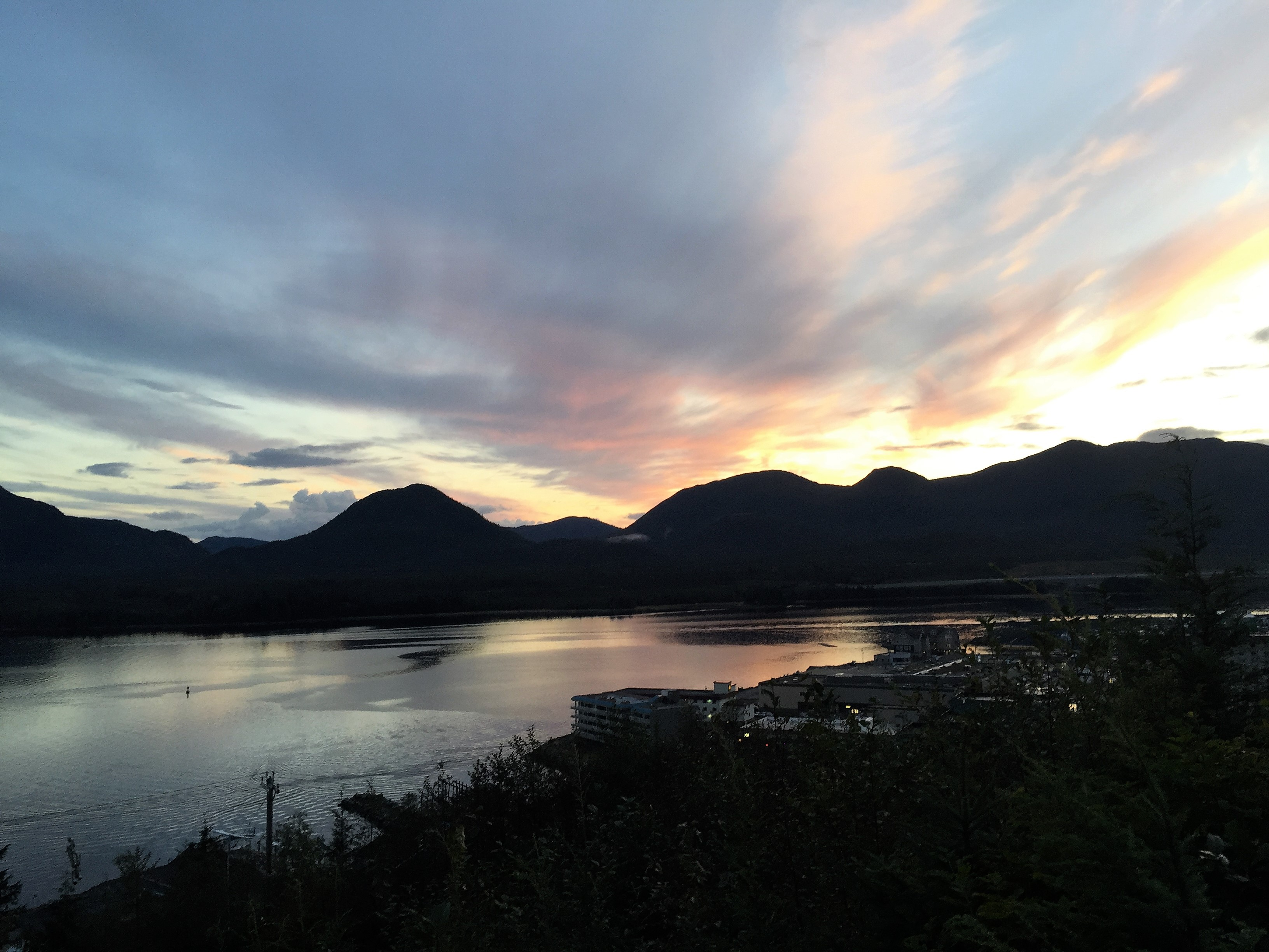 ketchikan-downtown-creek-street-sunset