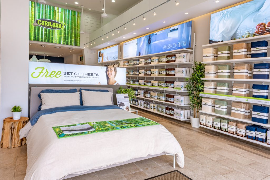 Softest Bamboo Sheets Goes to Cariloha by Rave Reviews