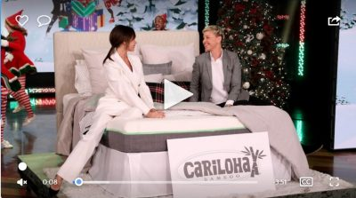 Cariloha Bamboo Featured on The Ellen DeGeneres Show