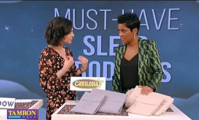 ABC's Tamron Hall Show Features Cariloha Bamboo Sheets