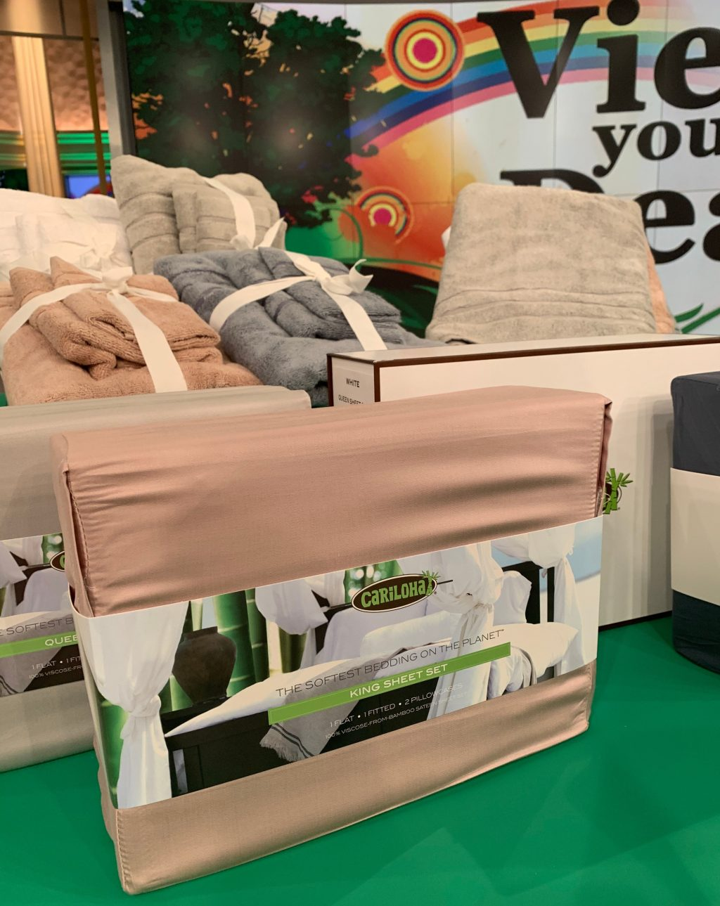 The View Spotlights Cariloha Sheets, Towels on Eco-Friendly Segment
