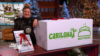 The Kelly Clarkson Show Features Cariloha Bamboo