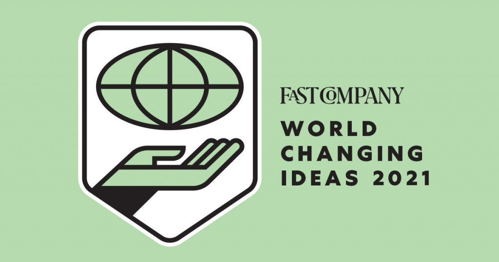 Fast Company Announces Cariloha for World Changing Ideas Award