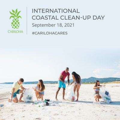 How to Care with Cariloha on International Coastal Clean-Up Day