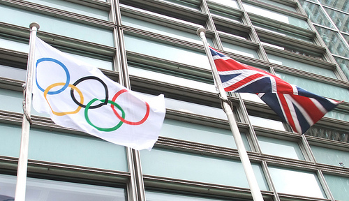 Olympics and British Flags