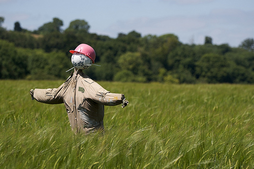 Build a Scarecrow Day on July 1